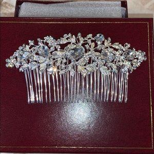 Swarovski and crystal headpiece